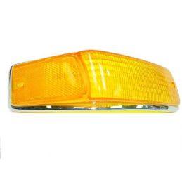 Front Turn Signal Lenses; Left