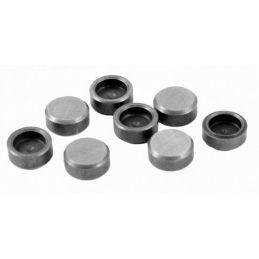 Hardened Lash Caps; 8mm stem