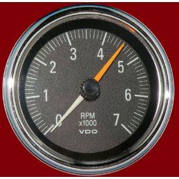 "VDO Performance Instruments - Series 1; Tachometer 7K RPM 3 3/8"""