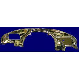 Rear Bell Housing Engine Tin; Chrome doghouse