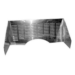 Stainless Steel Firewall Kits; Louvered 3pc.