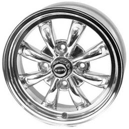 Empi 8-spoke Wheels; Polished