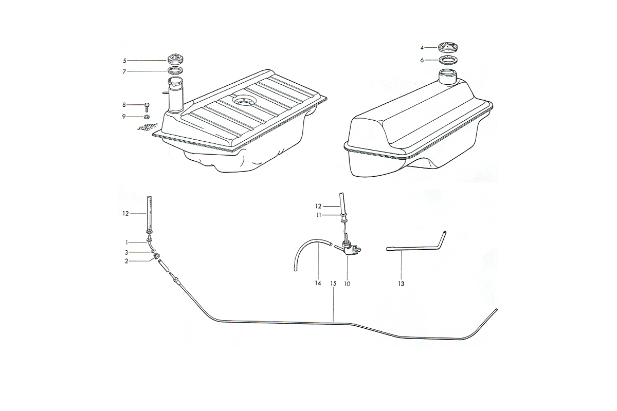 Gas Tanks & Components