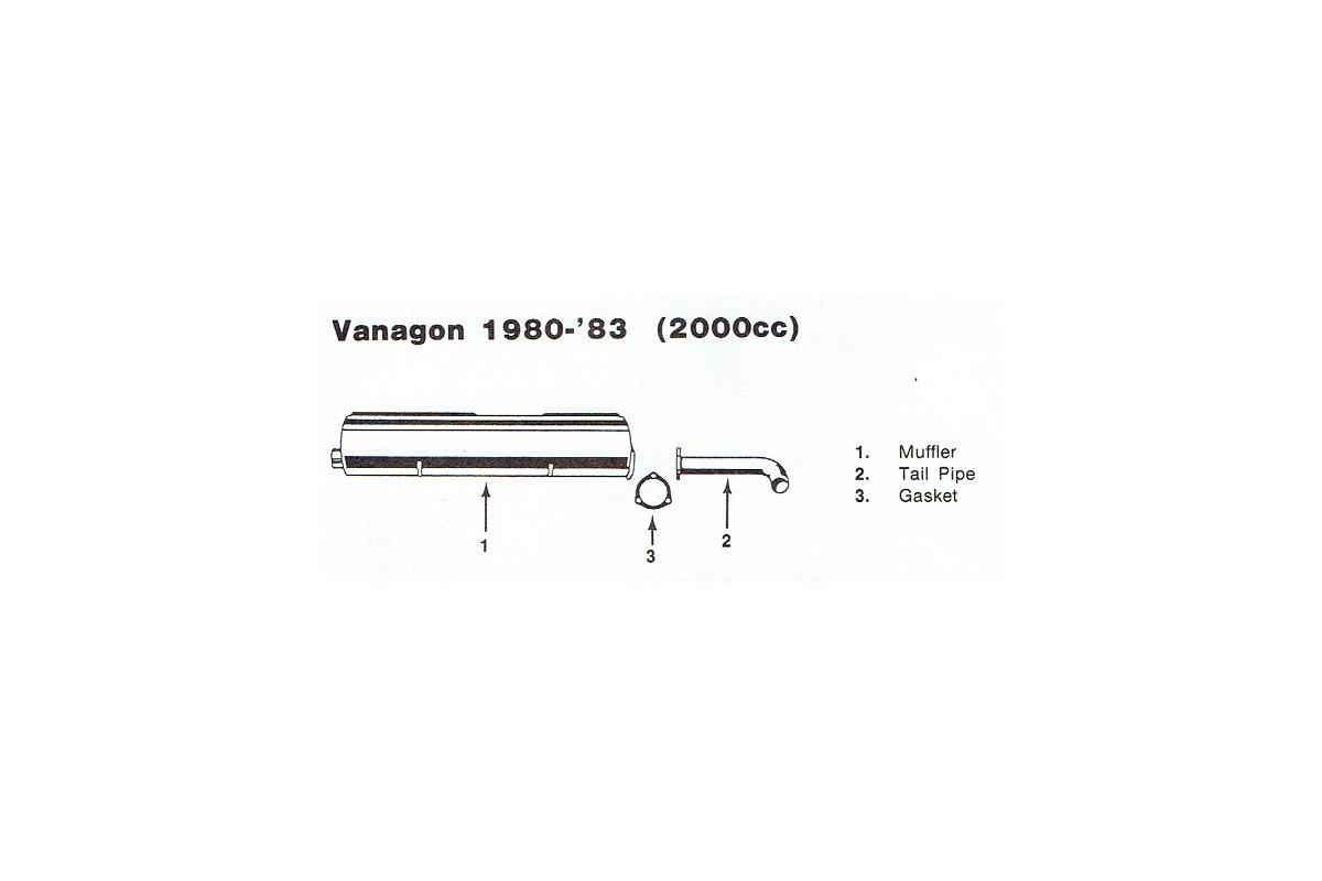 Stock Exhaust 1980-1983