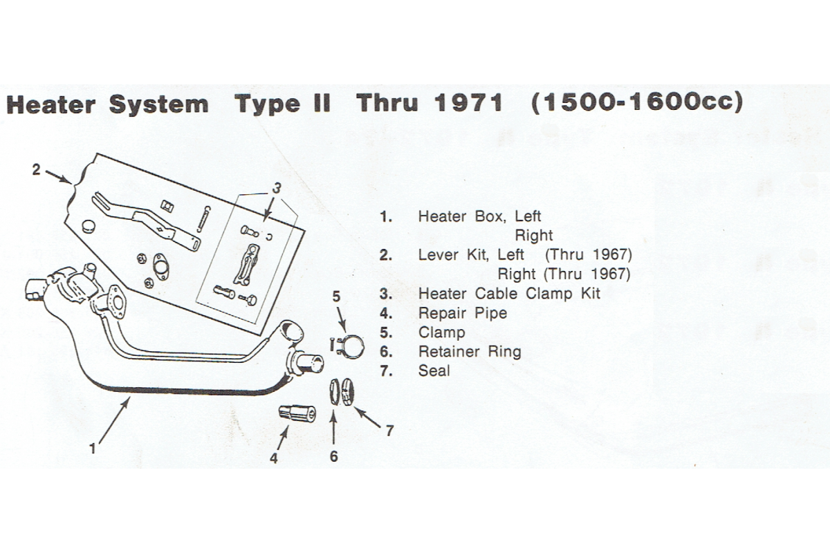 Heater Assembly Up To 1971