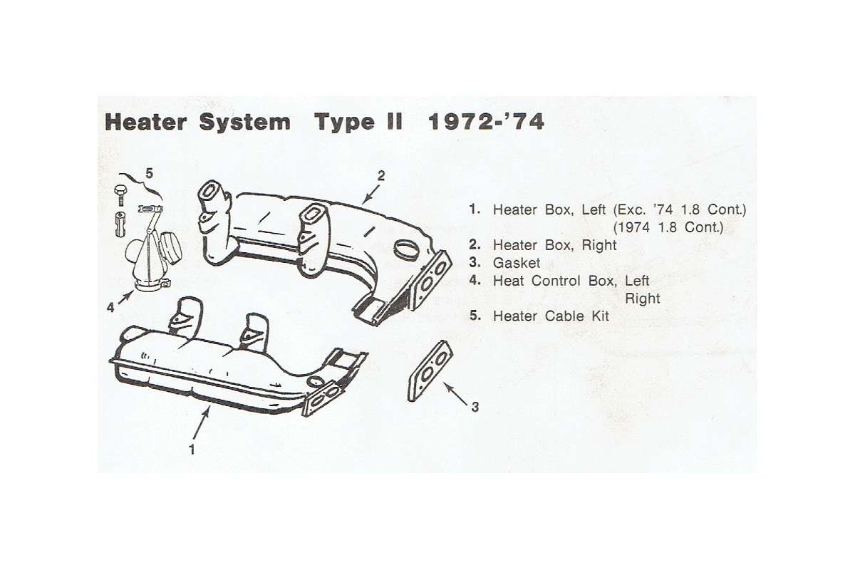 Heater Assembly 1972-74