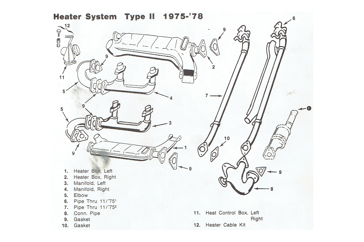Heater Assembly 1975-78
