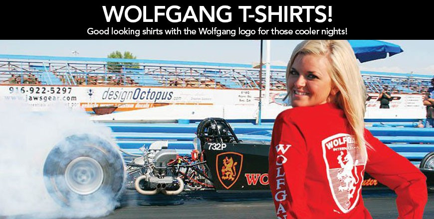 Good looking shirts with the Wolfgang logo for those cooler nights!