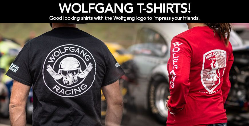 Good looking shirts with the Wolfgang logo to impress your friends!