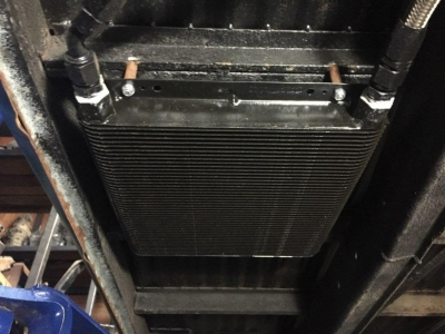 Remote Oil Cooler Placement. AIR-TECH